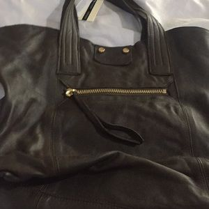 Top Shop leather tote bag
